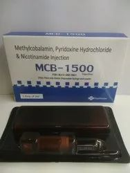 Methylcobalamin, Pyridoxine HCI & Nicotinamide Injection