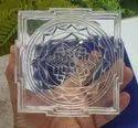 Natural Crystal Shree Yantra - 1704 Gram .