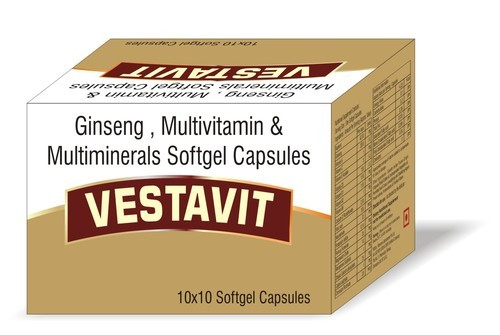 TREATWELL BIOTECH Ginseng with Multivitamins Softgel Capsules, Packaging Type: 1x10, Alu-alu