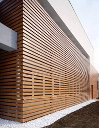 HPL Wood Cladding Work