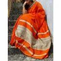 Designer Khadi Cotton Saree
