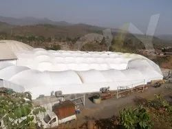 PVC Coated Tensile Tent Roofing