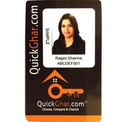 Black Plastic ID Card
