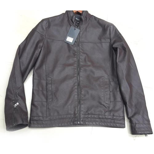 1bd0458a194 Small Full Sleeve Mens Leather Jacket
