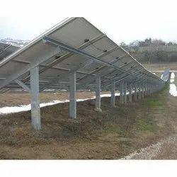 Galvanised Solar Structure