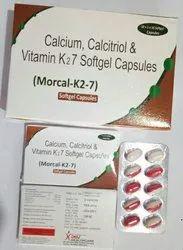 Morcal-K2 7 Softgel Capsules