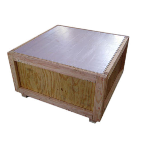 Square Lightweight Wooden Box