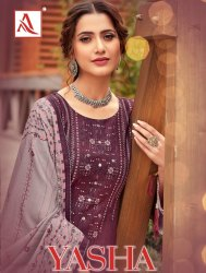 Designer Causal Wear Salwar Suits
