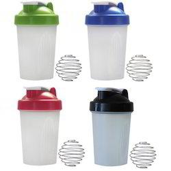 Red, Blue Shaker Bottles