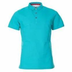 Half Sleeve Casual Wear Mens Polo Neck T Shirt