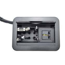 Cable Cubby For HDMI VGA Audio LAN & Power
