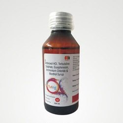 Ambroxol HCL Terbutaline Sulphate Guaiphenesin Ammonium Chloride and Menthol Syrup