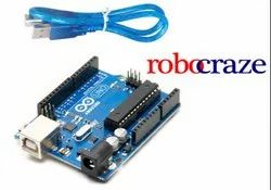 Arduino Uno Microcontroller Board With Cable