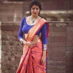 Banarasi Silk Saree Party Wear