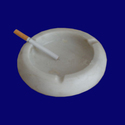 White Marble Ashtray For Smoking