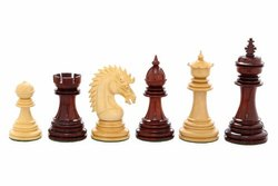 Bud Rosewood Cyrus Staunton Luxury Chess Pieces Set