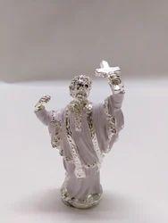 Silver Jesus Statue