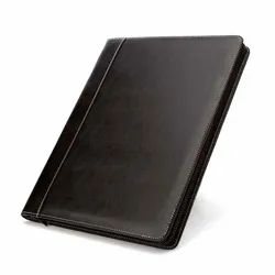 Brown Leather Folder, Packaging Type: Box, Size: 14'102