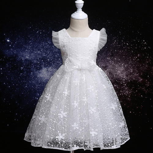 ebf86c1a547c Cute White Embroidered Dress at Rs 560  piece