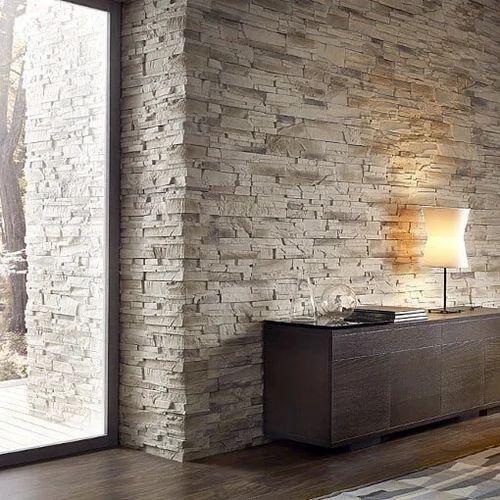 Brown GRC Decorative Wall Cladding