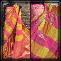 Jacquared Work Banarasi Silk Saree