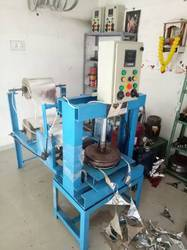 4-Paper Roll Hydrulic Thali Making Machine
