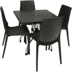 Plastic Black Dining Chair