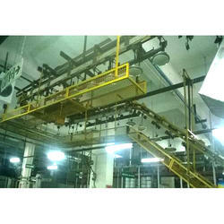 Overhead Fan Testing Conveyor