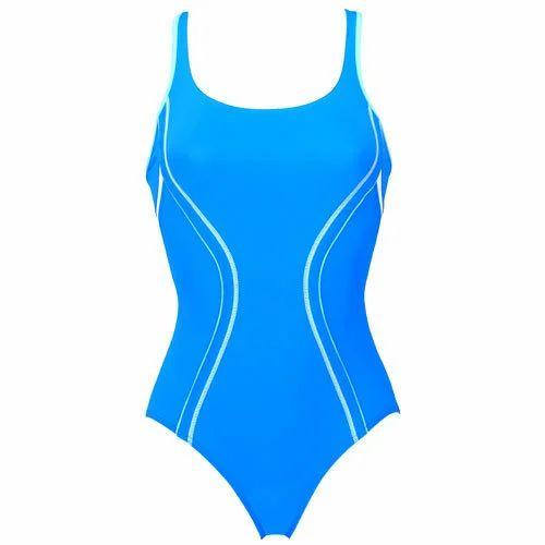 Designer Ladies Swimming Costume तरक क डरस