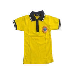 Girls Available In Various Color Kids School T Shirt, Size: Available in various sizes