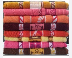 Fancy Jacquard Bath Towel