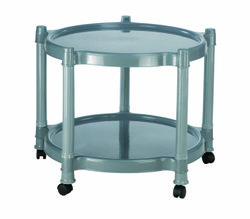 Black H- 520 W-580 L-580 Round Plastic Table 9504, Weight: 3.02 Kg