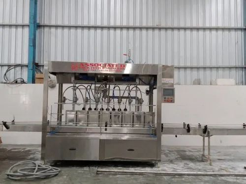 Automatic 20 Liter Oil Container Filling Machine