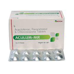 Aceclofenac Paracetamol Chlorazoxazone Tablets