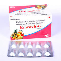 EMROVIT-G Multivitamin,Multimineral Multivitamin Capsules, Prescription