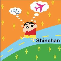 Big Stencils Shinchan