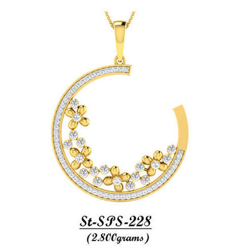 Ad gold trendy real gold pendant rs 87808 gram amber dzine id ad gold trendy real gold pendant aloadofball Image collections