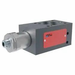 3-Way Pressure Compensator, Spool-Type, Direct-Acting, Modular
