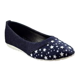 Supreme Denim Navy Blue Ladies Casual Shoe