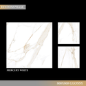 Marble Gloss Natural White Tiles, Size: 800x800