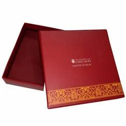 Red Printing Packaging Box