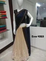 Fancy Fabric Net Lehenga