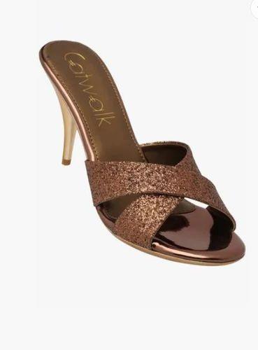 6cce83d3a Synthetics Open Toe Catwalk Women Party Wear Slip On Heels