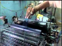 Pamphlet Printing Machine