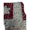 Embroidered Stone Saree