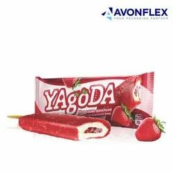 Printed Laminated Ice Cream Packaging Pouch