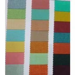 Plain Cotton Chanderi Fabric