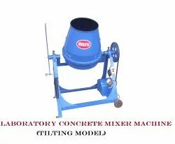 Laboratory Concrete Mixer Machine(Tilting Model)