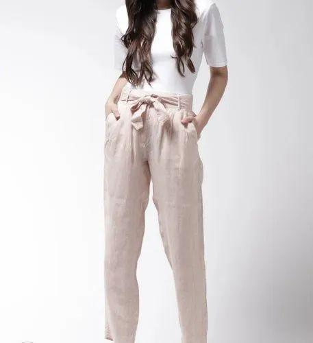 Feee Style Black Girls Pants, Waist Size: 32.0, Rs 195 /piece Super Fabrics  | ID: 21476466373