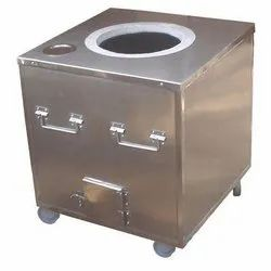 Stainless Steel Rectangular Tandoor for Restaurant